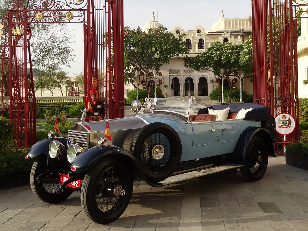 The Royal Udaipur RR GLK 21: Classic Drive from Derby to Udaipur to Pebble Beach and on going......
